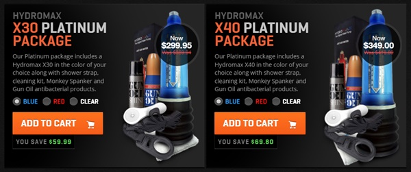Hydromax-x30-x40-platinum-package