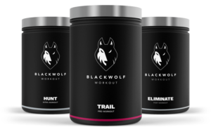 Czarny Workout Przegląd Wolf - Powerful Pre, Intra i Post-Workout Supplement