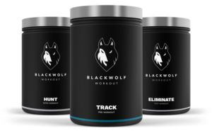 Black Wolf Trainingsbilanz - Leistungsstarke Pre, Intra, und Post-Workout Supplement