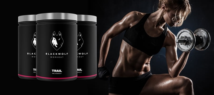 BlackWolf Trail Workout - Premium Pre-Workout Booster pour les femmes?