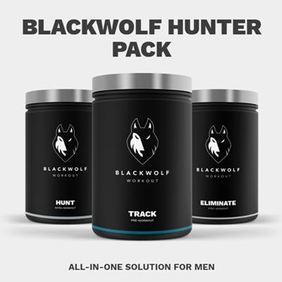 Blackwolf Hunters Packung Blackwolf Workout Supplement Bewertung |  Funktioniert es wirklich?  Blackwolf Workout Supplement Bewertungen, Preis und Free Trial