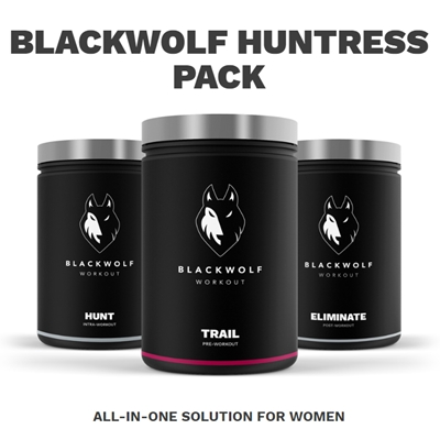 BlackWolf Huntress Pack - BlackWolf Workout Review - Powerful Workout Supplementen 2017