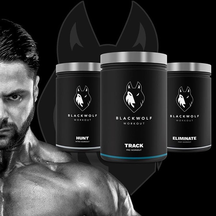 Czarny Wilk Hunter Pakiet Czarny Wilk Workout Supplement Review - samiec i samica Pre Workout