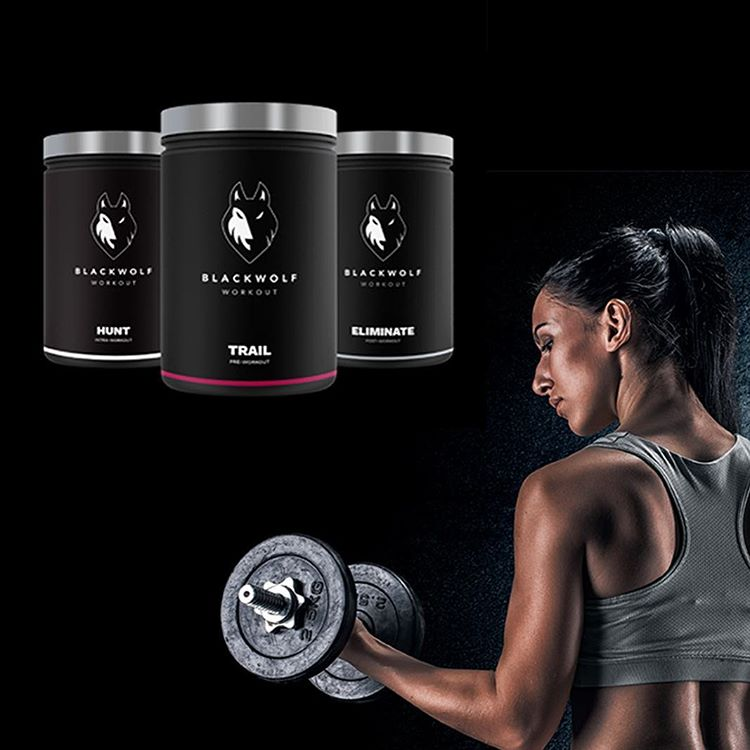 Black Wolf Huntress pack Black Wolf Workout Supplement Review - maschio e femmina Pre allenamento