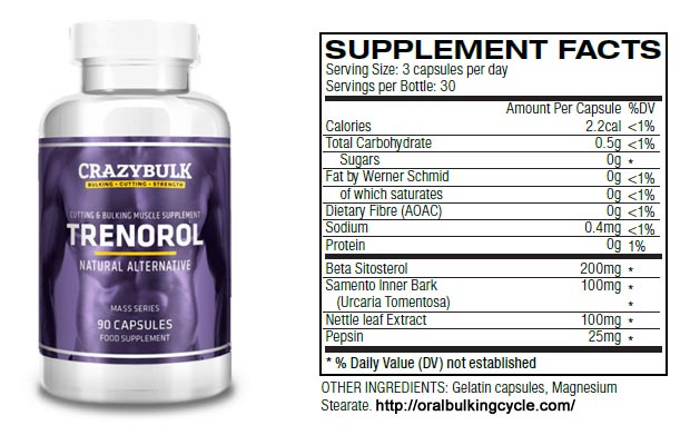 CrazyBulk Trenorol (Trenbolon) Bewertung: Get Natürlich Massives Muskelzuwachs