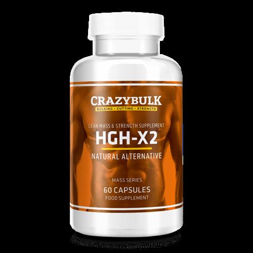CrazyBulk HGH-X2 Somatropinne סקירה: איך בטוח ויעיל האם מוצר זה?