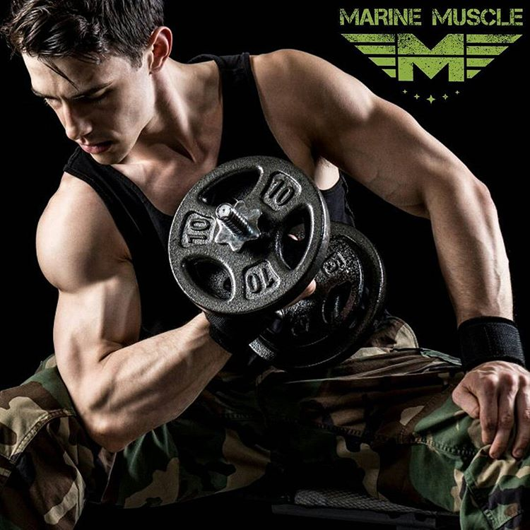 """Revisión del músculo marino: """"grado militar"""" estadounidense culturismo"""