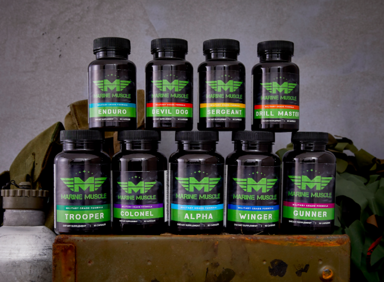 Marine Muscle Bewertung: Premium Legal Steroid Alternative Made in USA